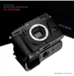 GARIZ HALF CASE- In Pelle NERA Per Fujifilm X-PRO2