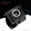GARIZ HALF CASE-Custodia In Pelle NERA Per Fujifilm X-PRO2