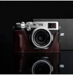 GARIZ HALF CASE IN PELLE MARRONE CHIARO - Fujifilm X100F
