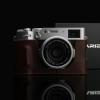 GARIZ HALF CASE MARRONE- Fujifilm X100V